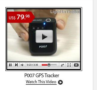 P007 GPS Tracker