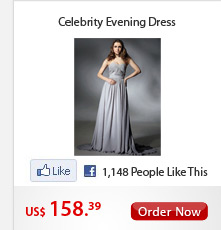 Celebrity Evening Dress