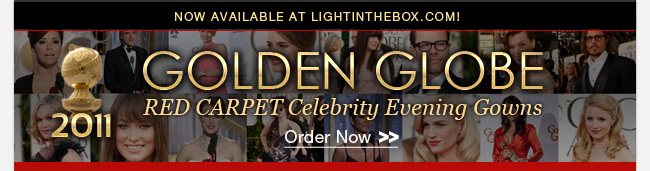 2011 Golden Globe Red Carpet Celebrity Evening Gowns