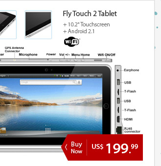 Fly Touch 2 Tablet