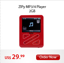 ZIPy MP3/4 Player