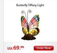 Butterfly Tiffany Light