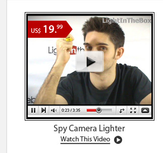 Spy Camera Lighter