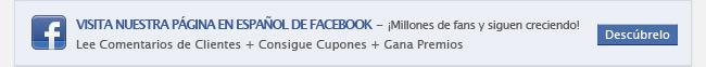 Visita Nuestra Página en Español de FACEBOOK