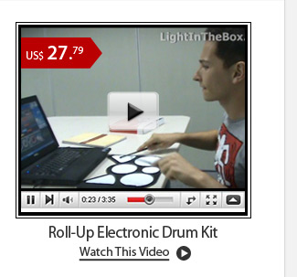 Roll-Up Electronic Drum Kit