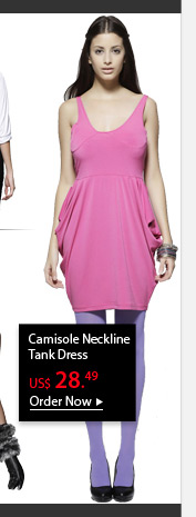 Camisole Neckline Tank Dress