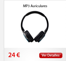 MP3 Auriculares
