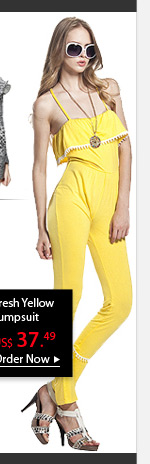 Fresh Yellow Jumpsuit