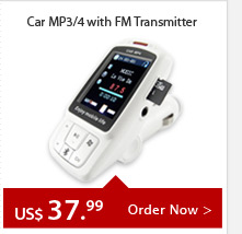 Car MP3/4 with FM Transmitter