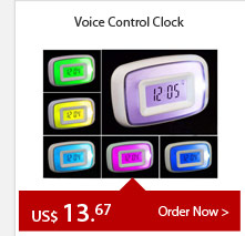 Voice Control Clock