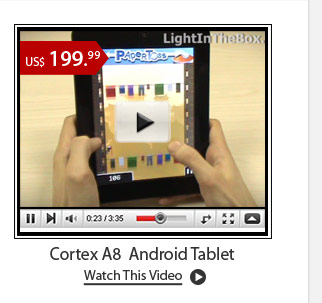 Cortex A8  Android Tablet