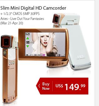Slim Mini Digital HD Camcorder