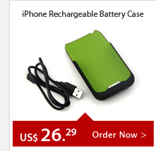 iPhone Rechargeable Battery Case
