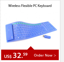 Wireless Flexible PC Keyboard