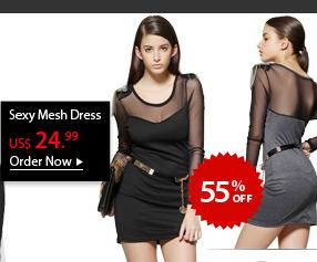Sexy Mesh Dress