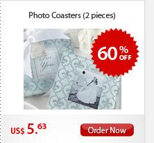 Photo Coasters (2 pieces)