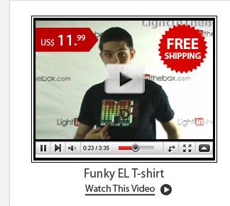 Funky EL T-shirt