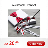 Guestbook + Pen Set