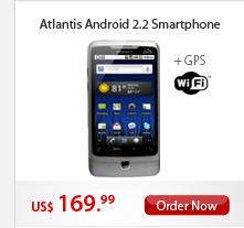 Atlantis Android 2.2 Smartphone