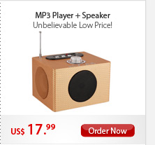 MP3 Player + Speaker
