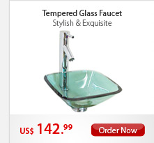 Tempered Glass Faucet