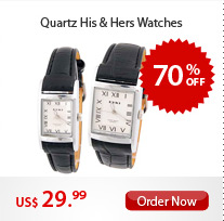 Quartz His & Hers Watches