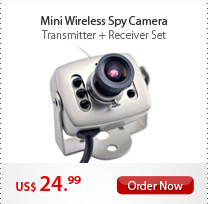 Mini Wireless Spy Camera