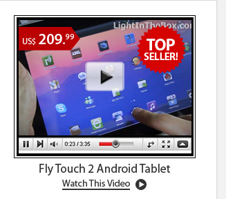 Fly Touch 2 Android Tablet