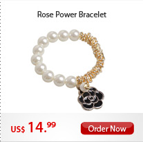 Rose Power Bracelet