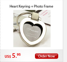 Heart Keyring + Photo Frame