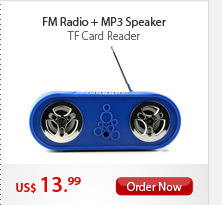 FM Radio+MP3 Speaker