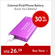 External iPod/iPhone Battery