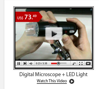 Digital Microscope + LED Light