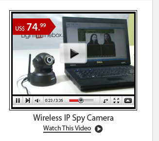 Wireless IP Spy Camera