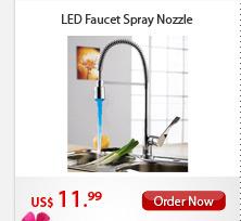LED Faucet Spray Nozzle