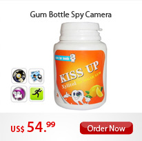 Gum Bottle Spy Camera