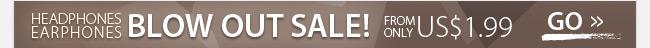 Headphones/Earphones Blow Out Sale!