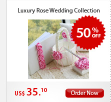 Luxury Rose Wedding Collection