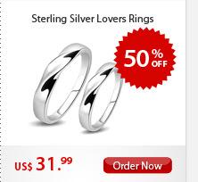 Sterling Silver Lovers Rings