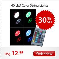 60 LED Color String Lights
