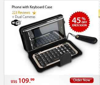 Phone with Keyboard Case