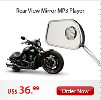 Rear View Mirror MP3 Player
