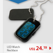LED Watch Necklace