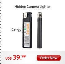 Hidden Camera Lighter