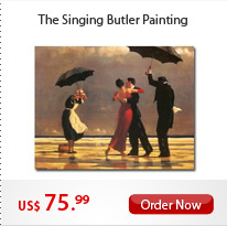 The Singing Butler Painting