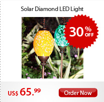 Solar Diamond LED Light