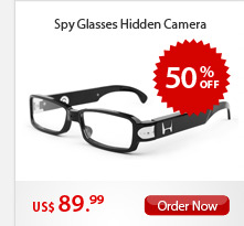 Spy Glasses Hidden Camera