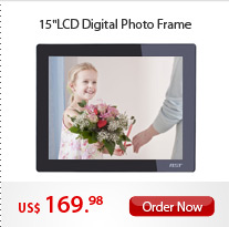 "15""LCD Digital Photo Frame"
