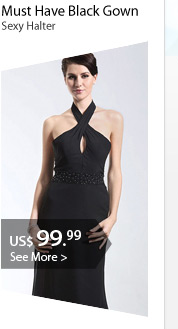 Must Have Black Gown