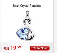Swan Crystal Pendant